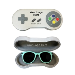 Silver Video Game Controller Case