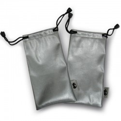Metallic Drawstring Pouch