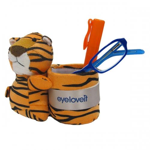 Tiger Plush Caddie
