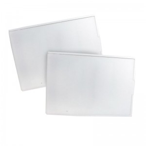White Rectangle with Cover