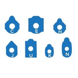 Ultra Blue Blocking Pads