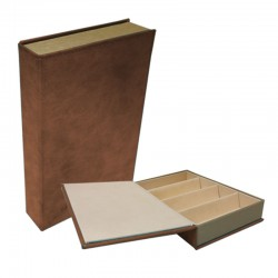 Book Tray - Brown