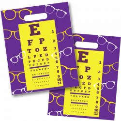 Yellow Eye Chart Die Cut