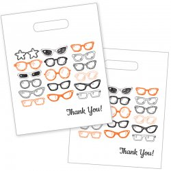 Sketched Glasses Die Cut