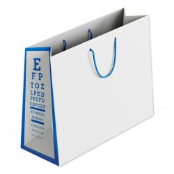 Paper Laminated Vision Chart Gusset