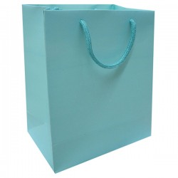 Paper Laminated Bag - Turquoise