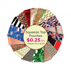 Squeeze Top Pouches