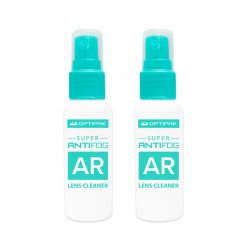 Super Anti-Fog AR Lens Cleaner Spray - 2 Pack